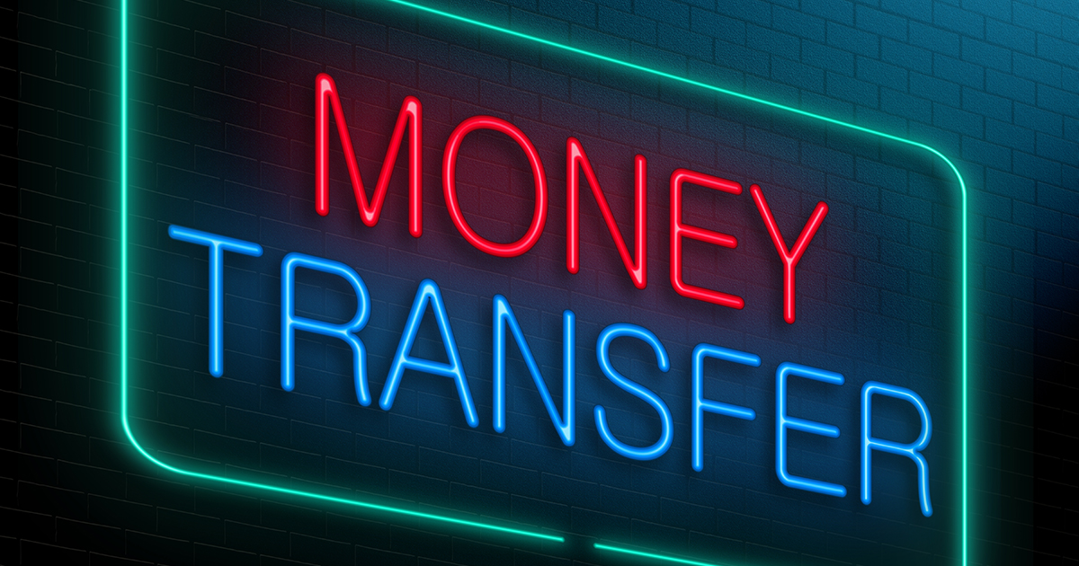 Provision of Money Transfer System and through Hawala